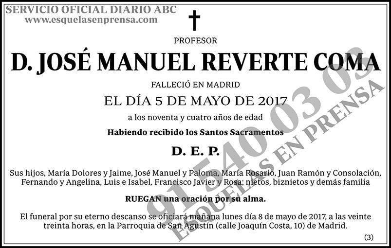 José Manuel Reverte Coma